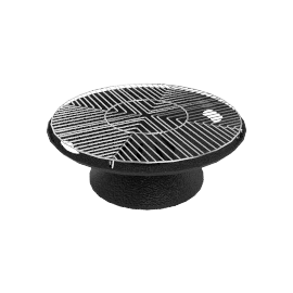 Cast Iron Fire Bowl - Black