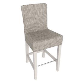 Montague Bar Chair, Pale Stone