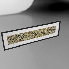 Jackson Pollock - Number 10 Framed Print, 32 x 110cm