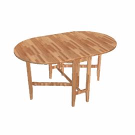 Flynn Folding Table, Chestnut