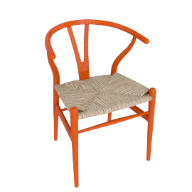 Wishbone Chair, Exclusive - Red
