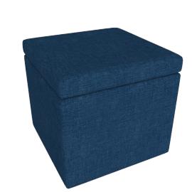 Signature Ottoman, Blue