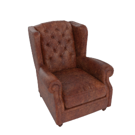 Claverdon Armchair, Galveston Hide