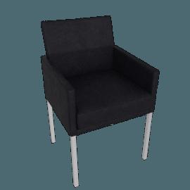 Antica Armchair, Black