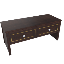 Indiana Coffee Table - Dark Brown