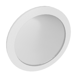 Alexis Mirror, HG Light Grey