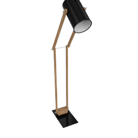 Focus Floor Lamp, Black
