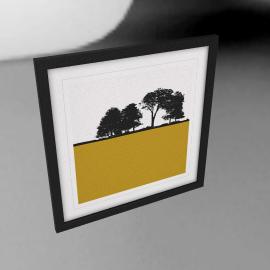 Jacky Al-Samarraie - Brockhampton Framed Print, 54 x 54cm