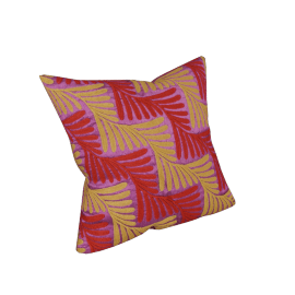 Deco Floral Cushion - 45x45 cms
