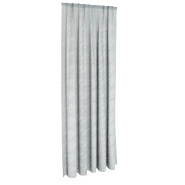 Houndstooth Sheer Curtain Pair 140X240Cm-Beryl