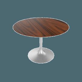 Saarinen Round Dining Table 42'', Rosewood - Plt.Rosewood