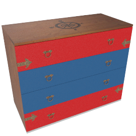 Little Pirate Chest of Drawers