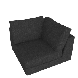 Reid Corner in Fabric, Anthracite
