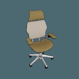 Freedom Task Chair with Headrest - Sabrina Leather