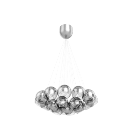 Knightley Mesh Parachute Cluster Ceiling Light