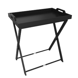 Vassoio Tray Table, Black