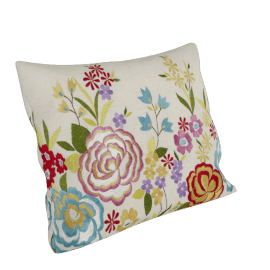 John Lewis Tropical Flowers Cushion