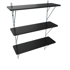 Polly 3-Tier Wall Shelf