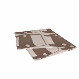 Dwell Cashmere Blanket, Khaki