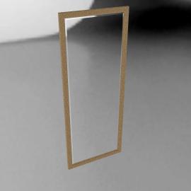 Weathered Mirror, 135 x 54cm