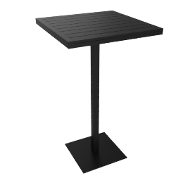 Eos Bar-Height Table, Black