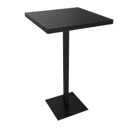 Eos Bar-Height Table, Black
