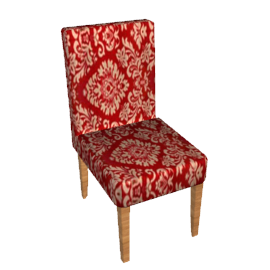 Felix Chair, Red