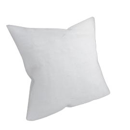 Silk Cushion, Ivory