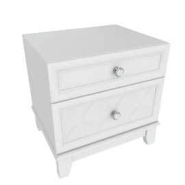 Estelle 2-Drawer Night Stand