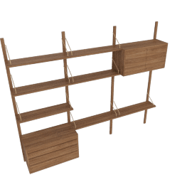Royal System Shelving Unit C