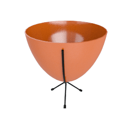 Mini Bullet Planter, Orange