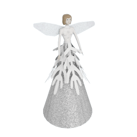 Glitter Fairy Christmas Decoration