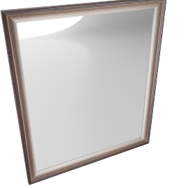Inga Short Wall Mirror