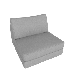 Reid Single Seater, Ducale Wool - Light Grey