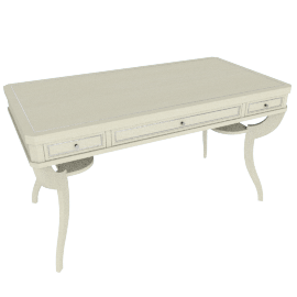Kiera 3-Drawer Dressing Table