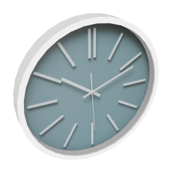 Ever Blue Wall Clock