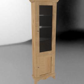 John Lewis Claremont Corner Display Cabinet