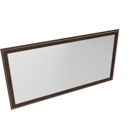 Indiana Buffet Mirror -Brown