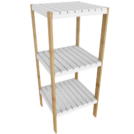 Brookline 3-Tier Bathroom Storage Shelf