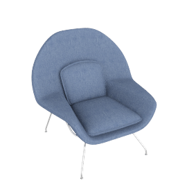 Womb™ Chair - Cato - Blue