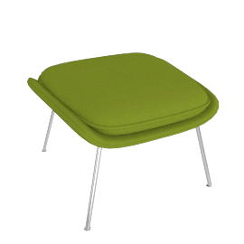 Womb™ Ottoman - Classic Boucle - Chartreuse