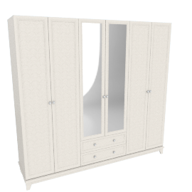 Estelle 6-Door Wardrobe