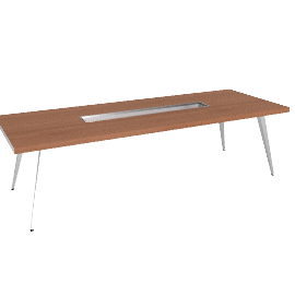 Play - Table with Ice Channel - Aluminum