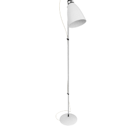 Hector Floor Lamp - White