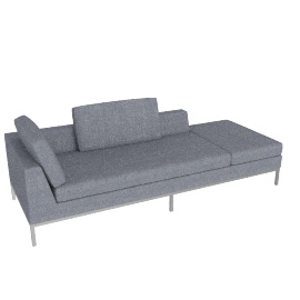Virginia sectionable 240-pouf LF