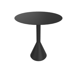Paliddade Cone Table, Anthracite