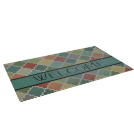 Mosaic Welcome Mat - 45x75 cms