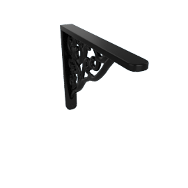 Wall Bracket Broque, Black