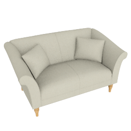Molly Small Sofa, Savannah Natural