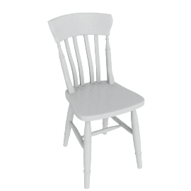 Cecile Dining Chair, Blue Grey